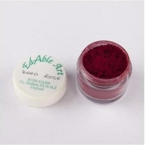 Deep Rose Lustre Dusting Colour 100% Edible