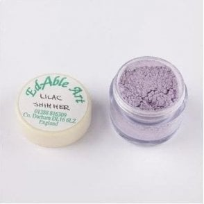Lilac Shimmering Lustre Dusting Colour 100% Edible