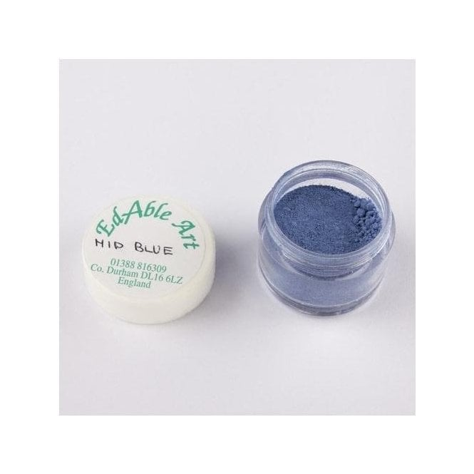 Edable Art Mid Blue - Lustre Dusting Colour 100% Edible