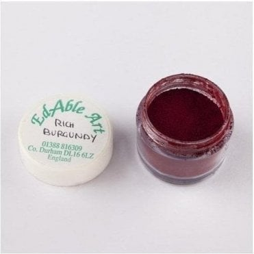 Rich Burgundy - Lustre Dusting Colour 100% Edible