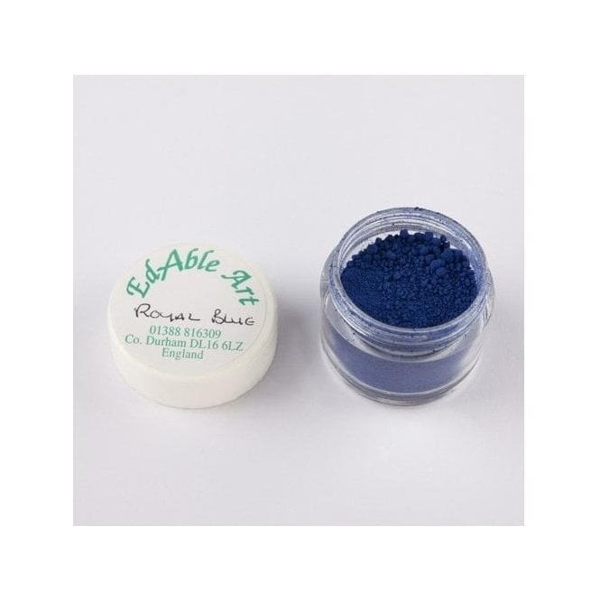 Edable Art Royal Blue - Lustre Dusting Colour 100% Edible