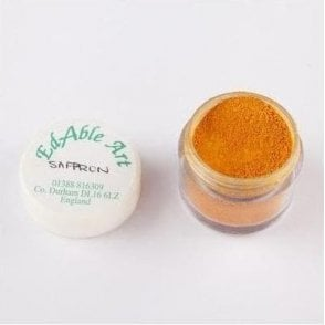 Saffron - Lustre Dusting Colour 100% Edible