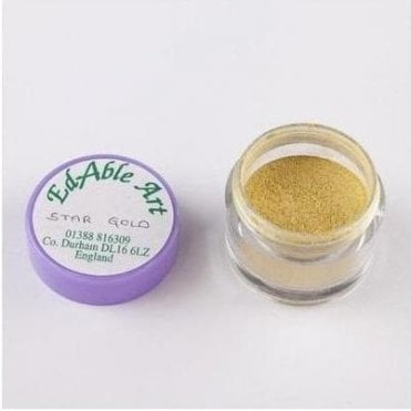 Star Gold - Luxury Lustre Dusting Colour 100% Edible