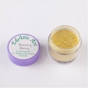 Sunny Gold - Luxury Lustre Dusting Colour 100% Edible