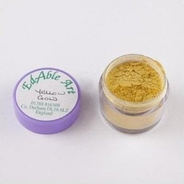 Yellow Gold - Luxury Lustre Dusting Colour 100% Edible