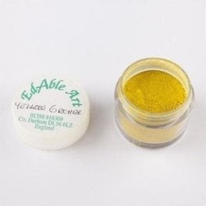 Yellow Ochre - Lustre Dusting Colour 100% Edible