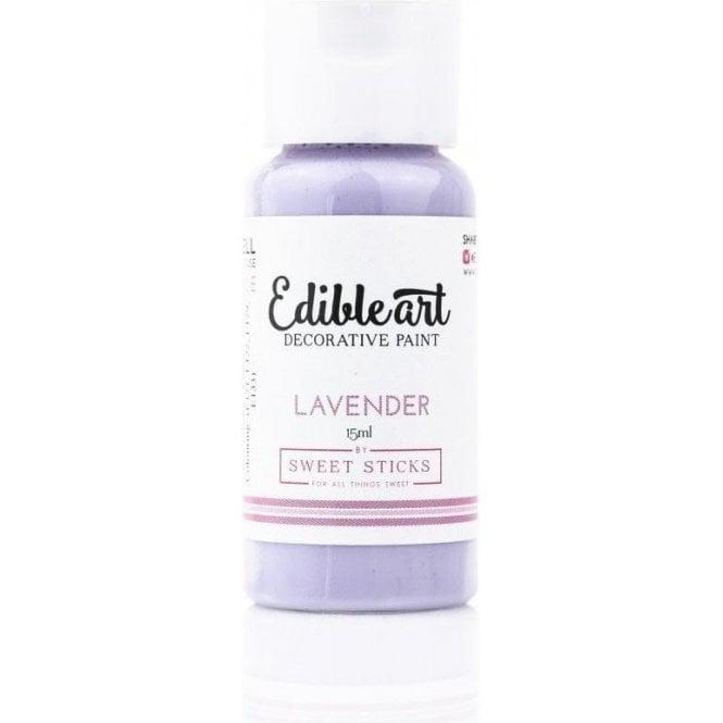Lavender Edible Art Decorative Paint 15ml