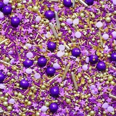 ROYALTY Decorative Metallic Sprinkle Medley 4oz/100g