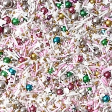 SERENDIPITY Decorative Metallic Sprinkle Medley 4oz/100g