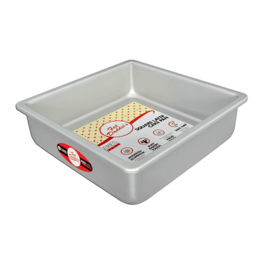"Pro Series Anodised Square Baking Tins - 3"" Deep"
