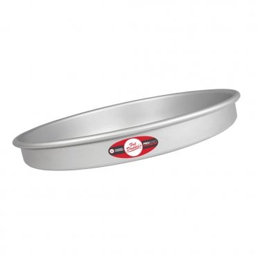 "Pro Series Round Anodised Layer Baking Tins - 2"" Deep"