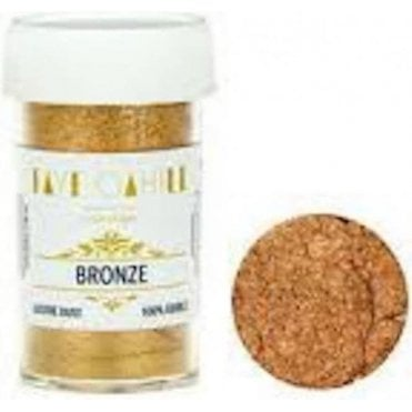 Bronze - 22ml Luxury Edible Lustre Dust Food Icing Colour