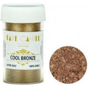 Cool Bronze - 22ml Luxury Edible Lustre Dust Food Icing Colour