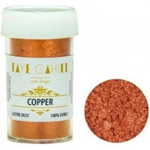 Copper - 22ml Luxury Edible Lustre Dust Food Icing Colour