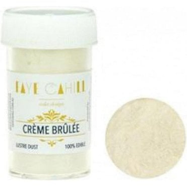 Creme Brulee - 22ml Luxury Edible Lustre Dust Food Icing Colour