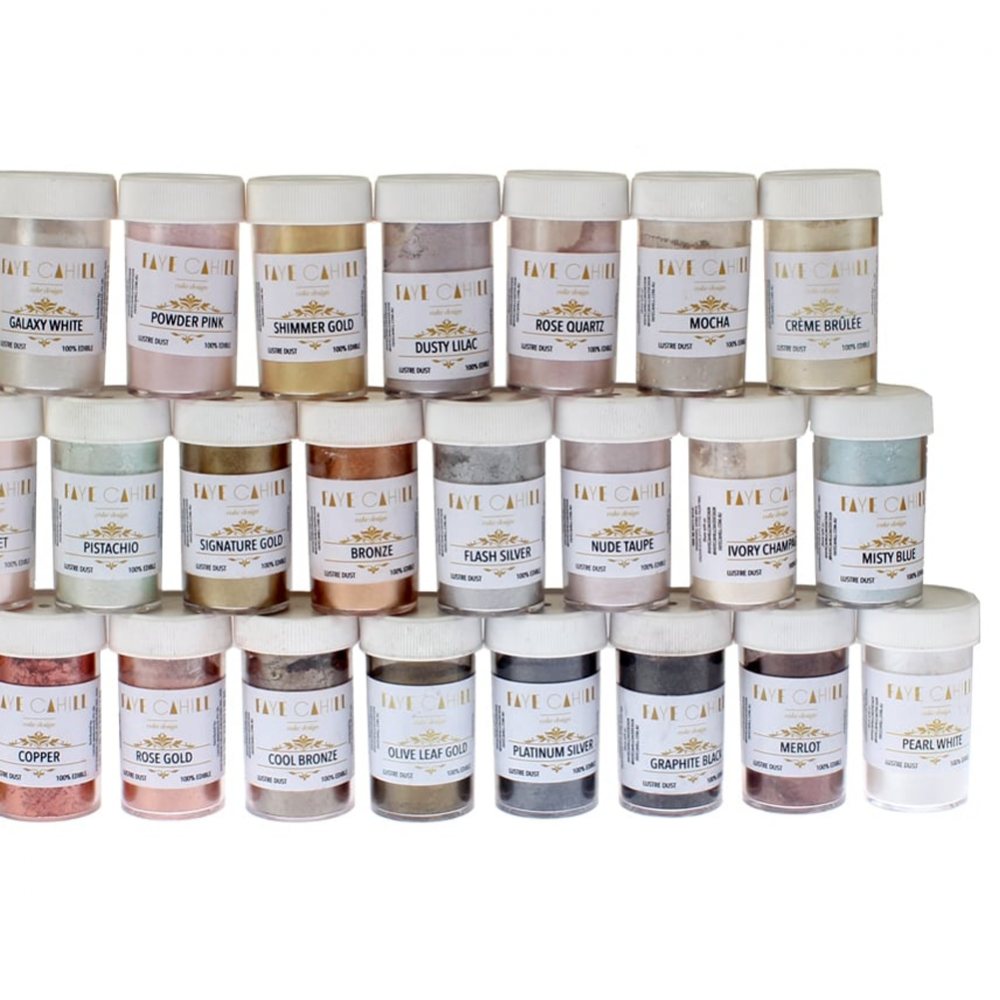 Full Set Of All Colours By Faye Cahill 22ml Luxury