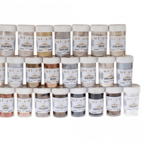 Full Set of 24 'The Ultimate Bundle' 22ml Luxury Edible Lustre Dust Food Icing Colour