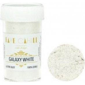 Galaxy White - 22ml Luxury Edible Lustre Dust Food Icing Colour
