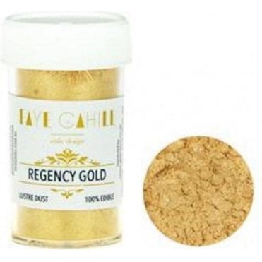 Regency Gold - 22ml Luxury Edible Lustre Dust Food Icing Colour