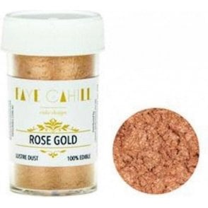Rose Gold - 22ml Luxury Edible Lustre Dust Food Icing Colour