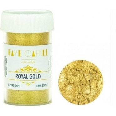 Royal Gold - 22ml Luxury Edible Lustre Dust Food Icing Colour