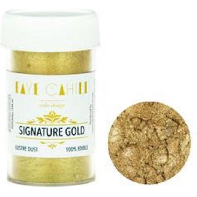 Faye Cahill Signature Gold - 22ml Luxury Edible Lustre Dust Food Icing Colour