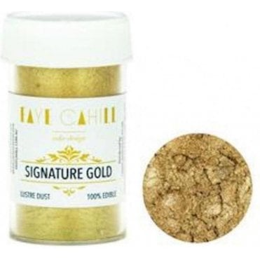 Signature Gold - 22ml Luxury Edible Lustre Dust Food Icing Colour