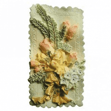 Floral Plaque Silicone Master Mould - Highly Detailed