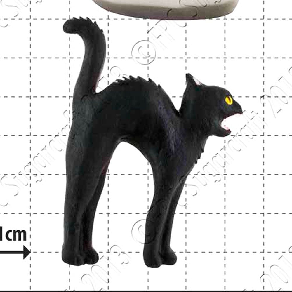 Black Cat Cake Decoration : Black Cat Cake Decorating Silicone Mould by FPC Moulds