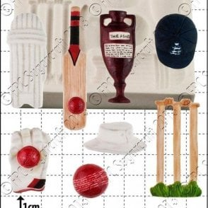 Cricket - Cake Decorating Silicone Mould