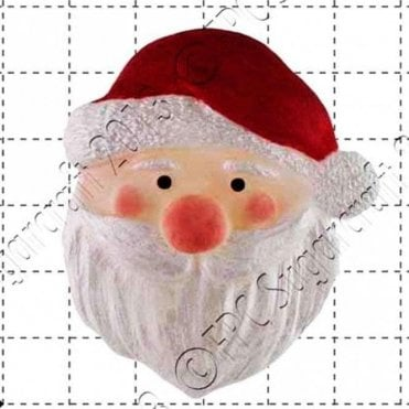 Father Xmas - Cake Decorating Silicone Mould