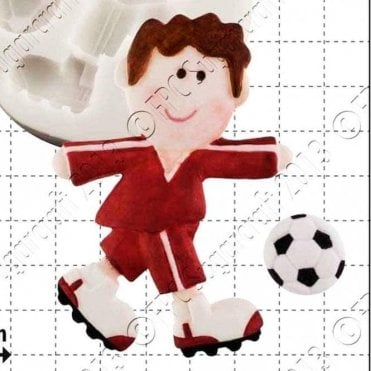 Funky Footballer - Cake Decorating Silicone Mould