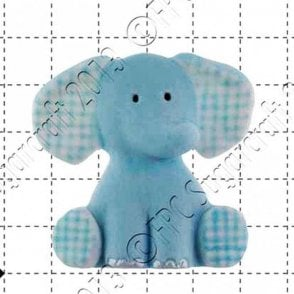 Nursery Elephant - Cake Decorating Silicone Mould