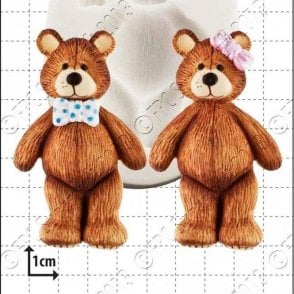 Teddy - Cake Decorating Silicone Mould