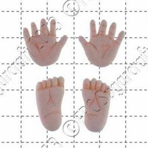 Tiny Hands and Feet - Cake Decorating Silicone Mould