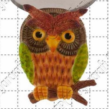 Wise Owl - Cake Decorating Silicone Mould