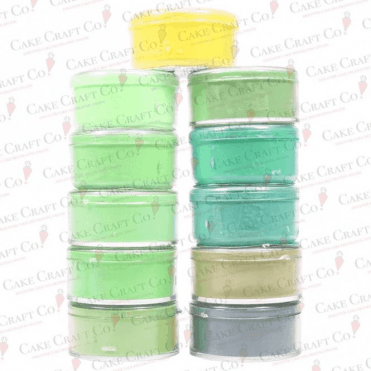Full Set of all 11 Green Shades by Rolkem Rainbow Spectrum - Choose Your Shades