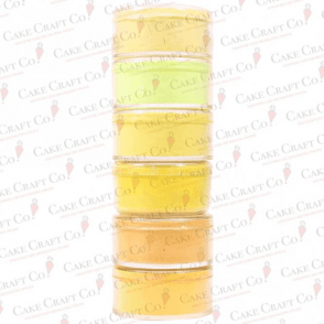 Full Set of all 6 Yellow Shades by Rolkem Rainbow Spectrum - Choose Your Shades