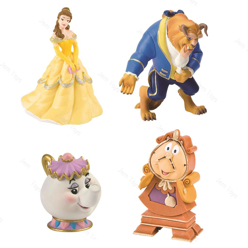 Disney Beast, Beauty and the Beast Topper 10cm - FULL SET