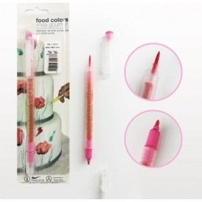 Bubblegum Pink - Edible Double-Tip Food Decorating Pen
