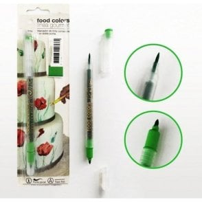 Chartreuse Green - Edible Double-Tip Food Decorating Pen