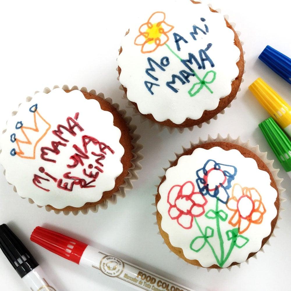 Classic Set Original - Edible Food Colouring Marker Pen Felt Tip Set ...