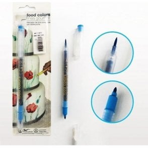 Sky Blue - Edible Double-Tip Food Decorating Pen