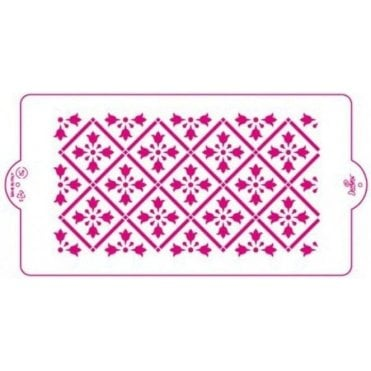 Greek Fret - Cake Decorating Stencil 15 x 30cm
