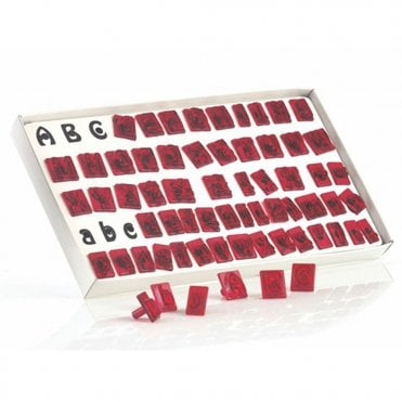 JEM Alphabet Cutter Set - 64 piece