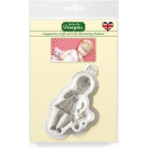 Baby Girl - Cake Decorating Silicone Mould