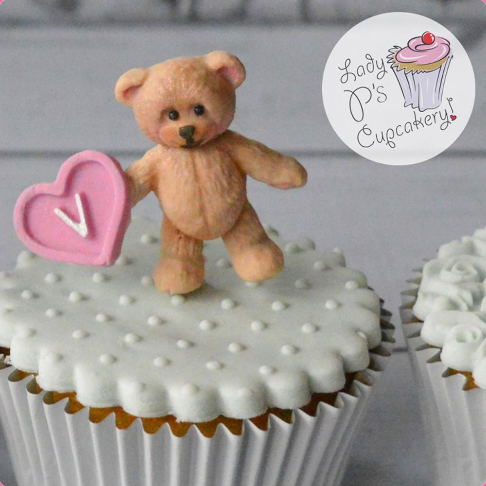 Baby Teddy Bear - Cake Decorating Silicone Mould by Katy ...