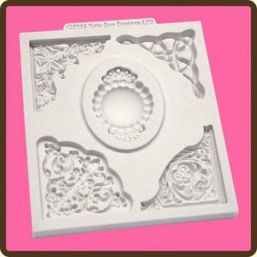 Decorative Corner Collection - Cake Decorating Silicone Mould