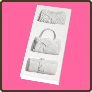 Designer Bags - Cake Decorating Silicone Mould