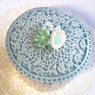 Floral Lace - Cupcake Decorating Silicone Mould